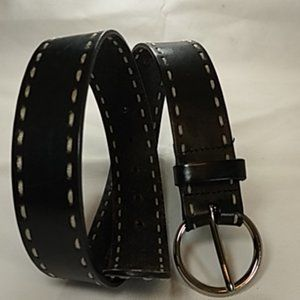 Genuine Leather Stitched Belt Express S